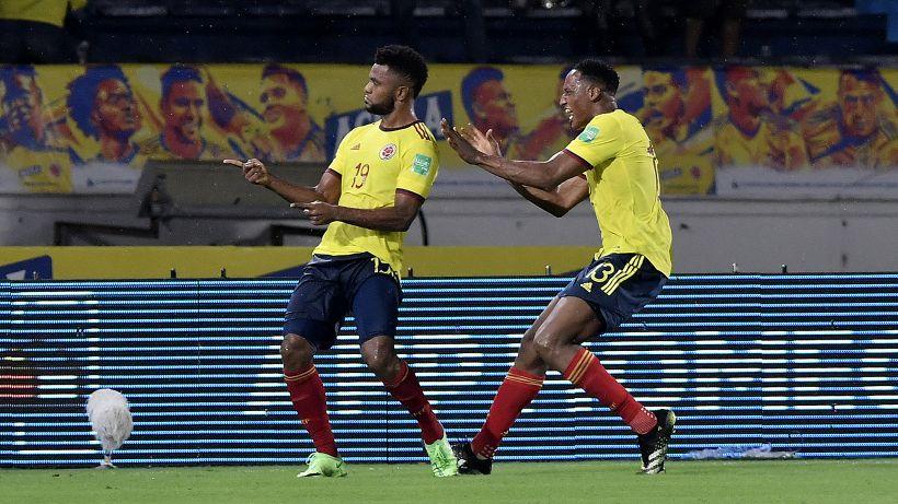 Qualificazioni Mondiali, Miguel Borja in gol nel 2-2 tra Colombia e Argentina