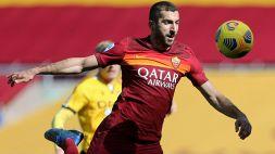 Mkhitaryan ha rinnovato con la Roma