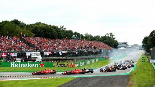 F1: a Monza si spera nel 70-80% di pubblico
