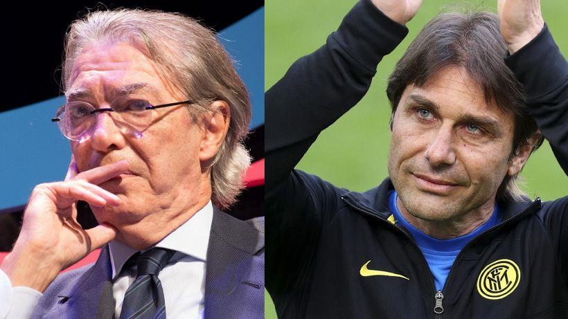 Inter: frecciata di Massimo Moratti ad Antonio Conte