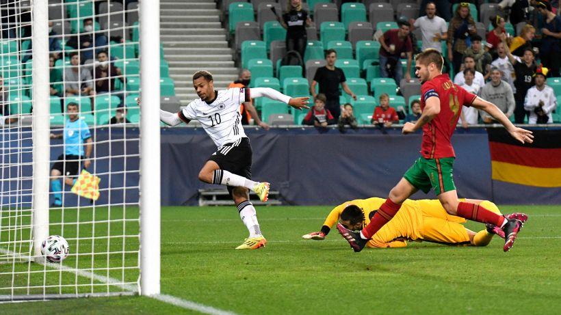 Germania Campione d'Europa U21, Portogallo ko