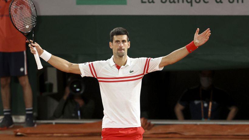 """Djokovic non trattiene l'emozione: """"Ho scalato l'Everest"""""""