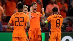 Euro 2020: Olanda-Ucraina 3-2, le foto