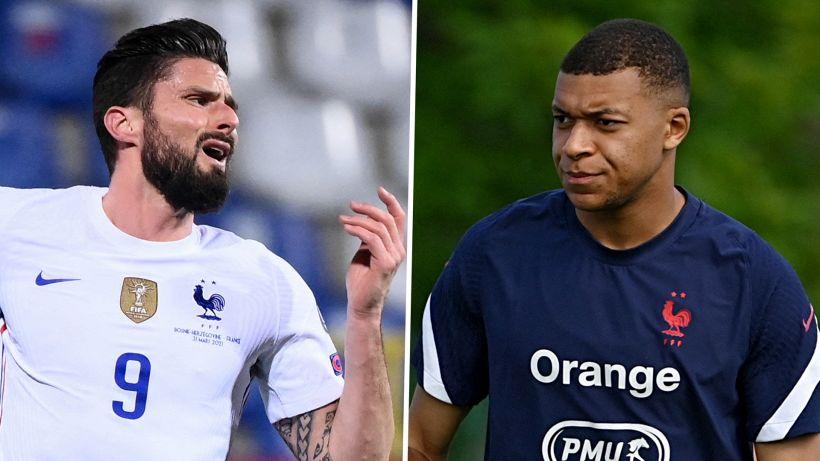 "Mbappé a Giroud: ""Pochi palloni? Avrei preferito me l'avesse detto"""