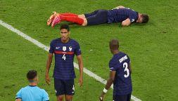 Euro 2020, Francia-Germania: paura per Pavard che sviene in campo