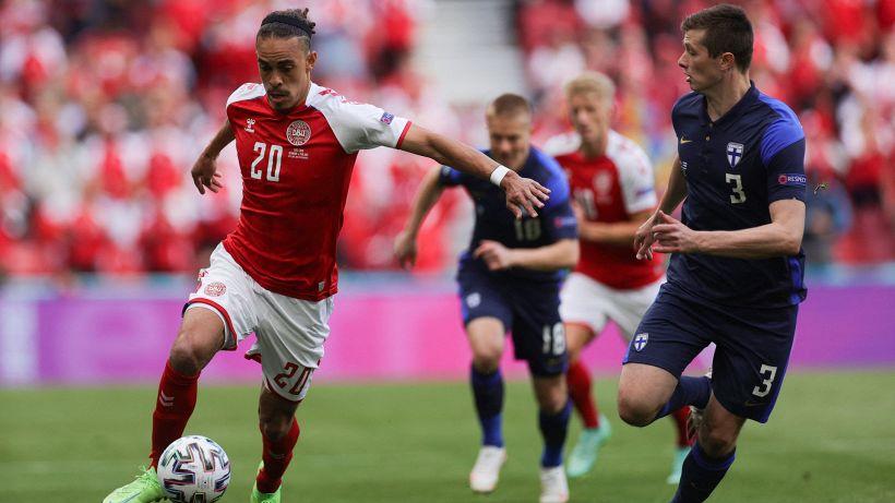 Danimarca-Finlandia: ripresa su richiesta di Eriksen ai compagni