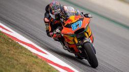 Gardner in pole in Moto2 al Montmelò