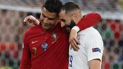 Euro 2020, Portogallo-Francia 2-2: le foto