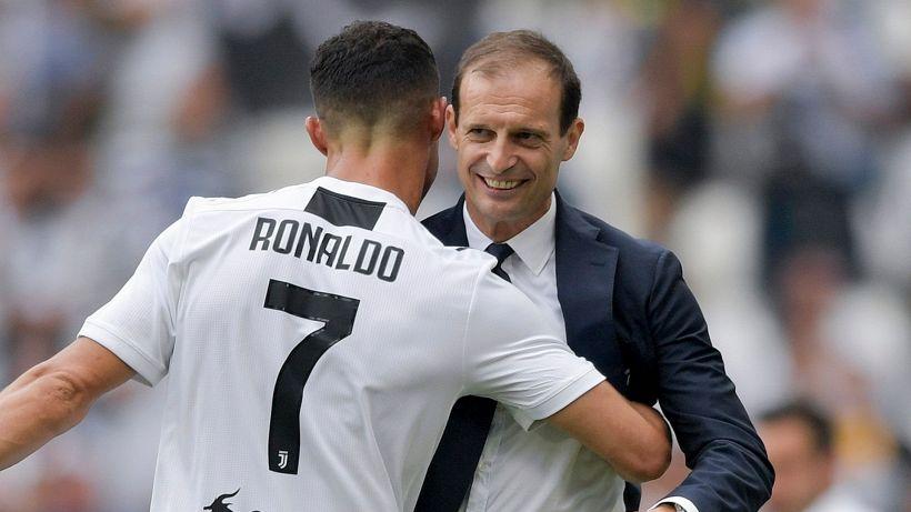 Mercato Juve, contatto Cristiano Ronaldo-Allegri: c'è la decisione