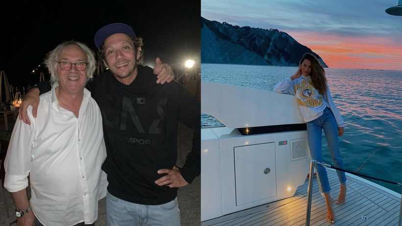 MotoGP, Rossi: relax in mare con Francesca prima del Sachsenring