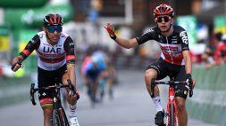 Giro di Svizzera: Rui Costa declassato per scorrettezze, la 6ª tappa va ad Andreas Kron