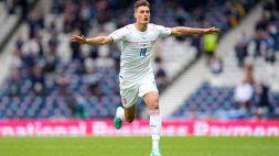 Euro 2020, Schick da urlo: gol da centrocampo con la Scozia