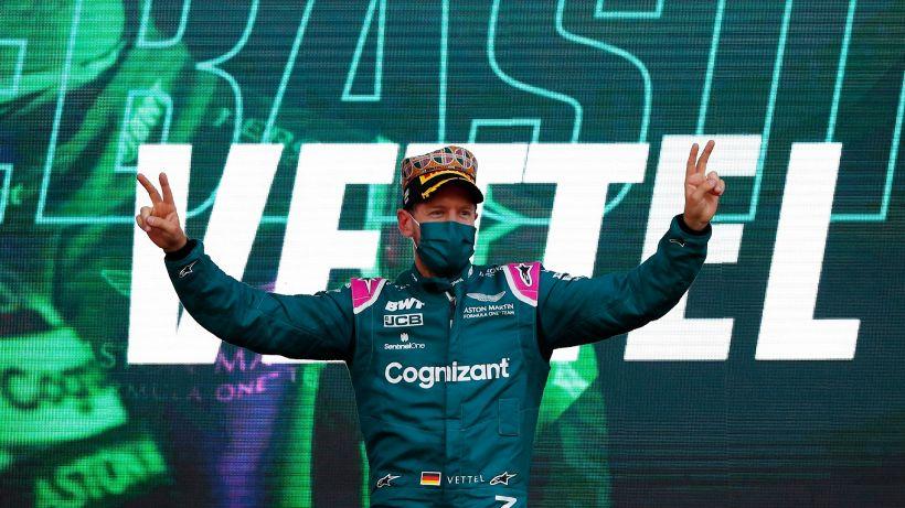 F1: il primo podio storico dell'Aston Martin