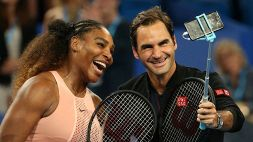 """Serena Williams: """"C'è una ragione se io e Roger Federer siamo così longevi"""""""