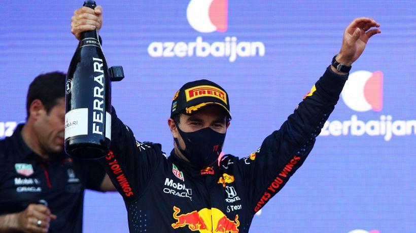 """F1, Perez: """"Fortunatamante Hamilton è andato lungo"""""""