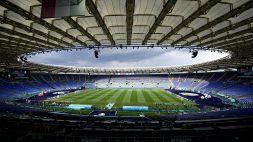 Italia-Svizzera: allarme bomba nei pressi dello Stadio Olimpico