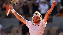 Roland Garros, Tsitsipas conquista la sua prima finale Slam: Ko Zverev al 5°