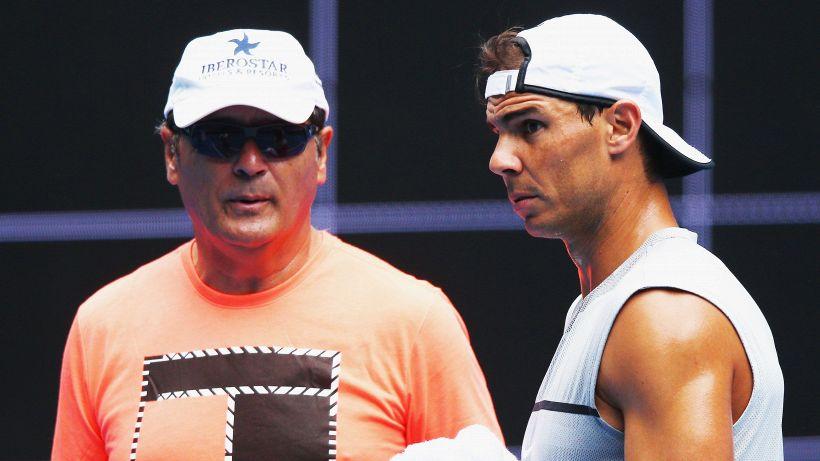"""Toni Nadal resta positivo: """"Fiducioso che Rafa possa vincere Wimbledon o gli US Open"""""""
