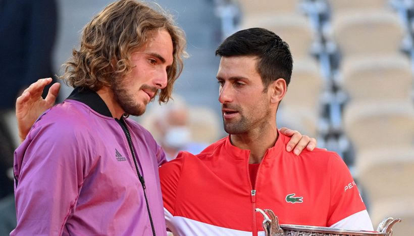 Tsitsipas, grave lutto a pochi minuti dalla finale con Djokovic