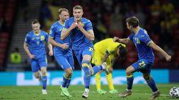 Euro 2020, l'Ucraina esulta allo scadere: Shevchenko ai quarti