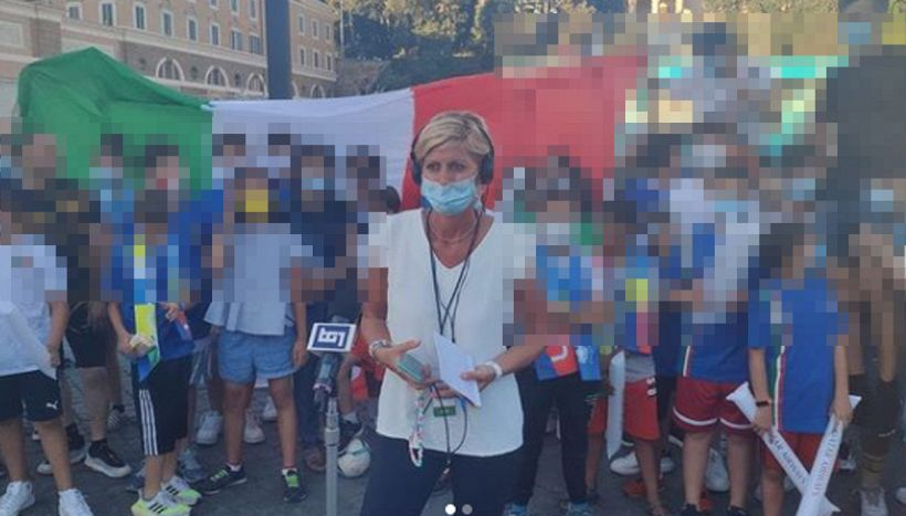 "Valentina Bisti aggredita live:""Urla e spintoni, collegamento saltato"""