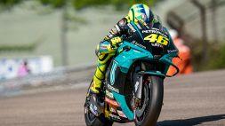MotoGp, PL3 Germania: riecco la Ducati, Valentino Rossi migliora