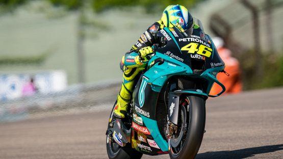 MotoGP, Valentino Rossi vola nelle libere ad Assen