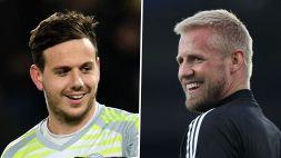 Galles-Danimarca è anche Ward vs Schmeichel: sfida tra i due portieri del Leicester