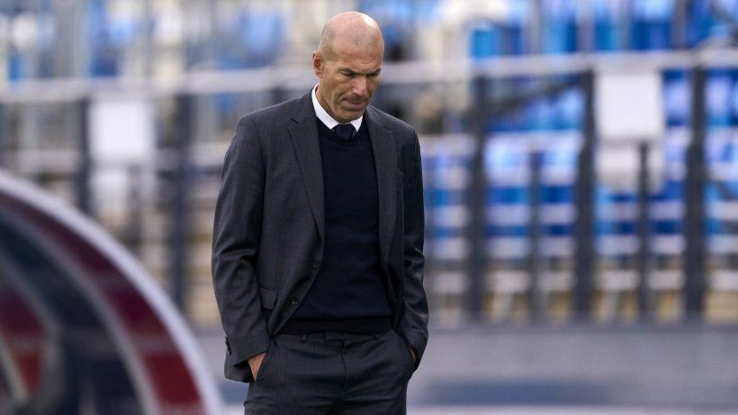 Zidane nervoso: battibecco con un giornalista dopo una domanda sul Real