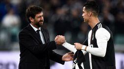 Juventus, Andrea Agnelli in conferenza: la decisione su Ronaldo