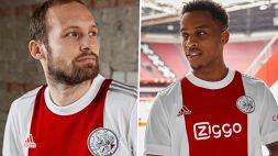 Ajax, ritorno al passato: vecchio logo e niente nomi sulle nuove maglie