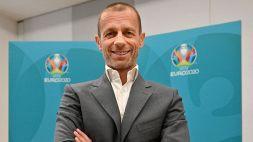 UEFA, Alexander Ceferin cambia idea sull'Europeo itinerante