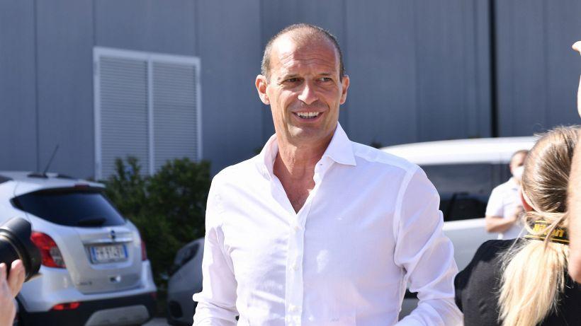 Juventus, Max Allegri sorride: buona notizia in ottica Napoli