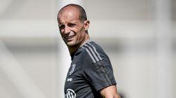 Juventus, nuovi guai: Allegri annuncia un'altra assenza illustre