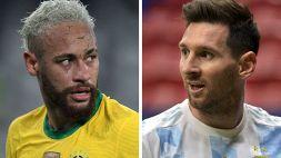 Argentina-Brasile: test covid Fraudolenti per la finale di Copa America