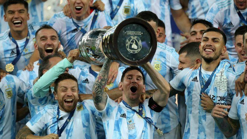 Copa America: la finale va all'Argentina di Messi