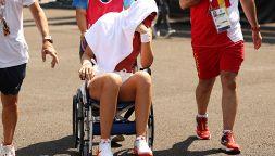 Olimpiadi, colpo di calore: la tennista Badosa esce in carrozzina