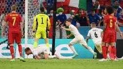 """Italia, Shearer polemico con Immobile dopo il goal: """"Patetico"""""""