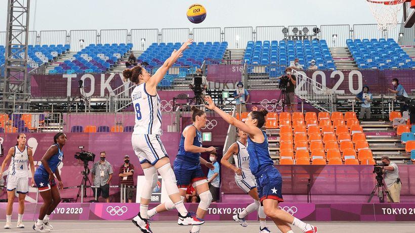Basket 3x3: Azzurre ko con gli Usa ma ancora in corsa