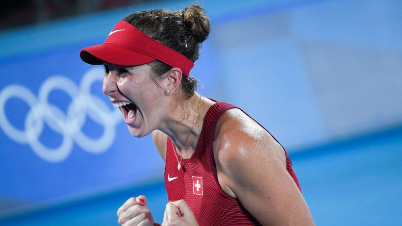 Tokyo 2020: Belinda Bencic oro nel singolare femminile del tennis