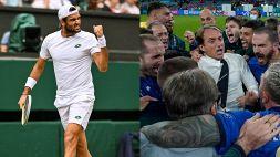 Euro 2020 e Wimbledon, l'Italia vi aspetta: Berrettini scrive agli Azzurri