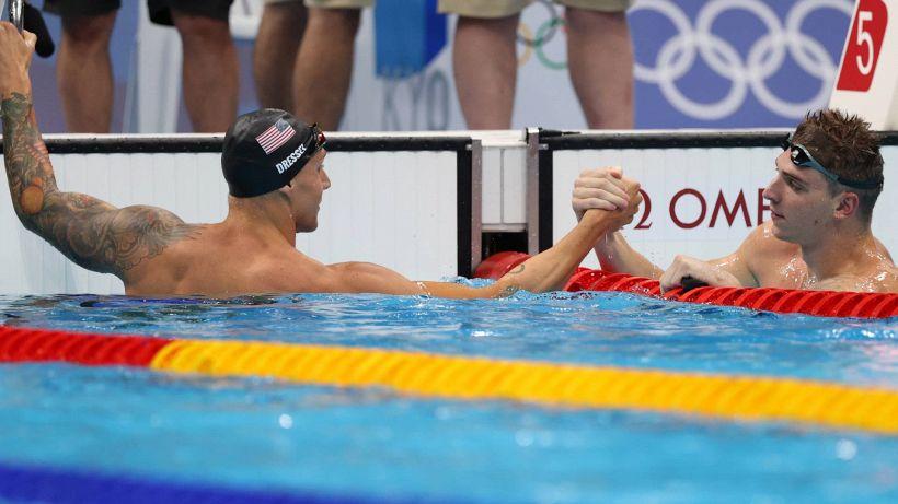 Nuoto, a Tokyo è 5° la staffetta 4x200. Miressi in finale nei 100