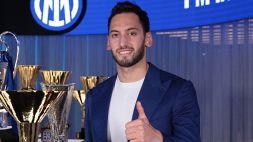 Inter, Hakan Calhanoglu manda una frecciata al Milan