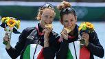 Tokyo 2020, il canottaggio rialza l'Italia: oro e bronzo nel doppio pesi leggeri