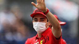 """F1, Leclerc: """"Sprint Race ok, così il venerdì non mi annoio"""""""