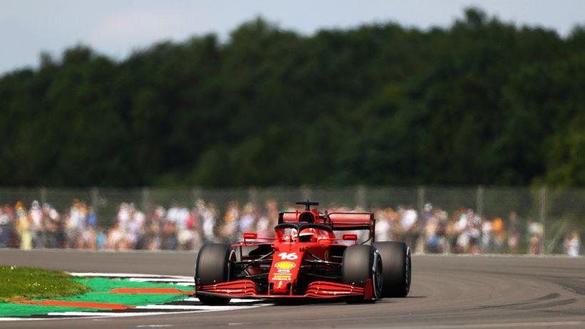 F1, Gran Bretagna: Ferrari in posizione d'attacco nelle libere