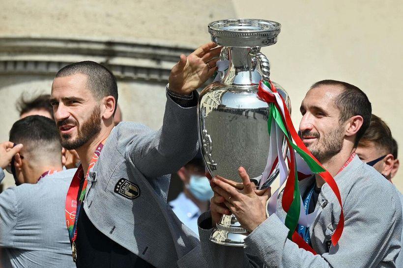 Bufera su Bonucci e Chiellini, retroscena sulle minacce dei difensori