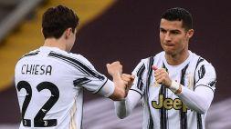 Juventus: deciso il futuro di Federico Chiesa e Cristiano Ronaldo