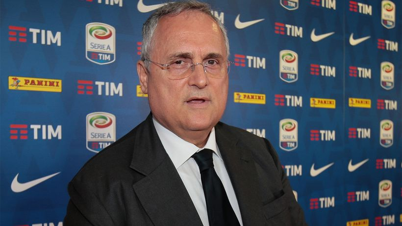 """Claudio Lotito: """"Maurizio Sarri è un valore aggiunto"""""""