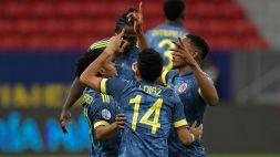 Copa America, Colombia-Perú 3-2: Diaz al 94' regala il 3° posto ai cafeteros